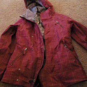 Burton dry ride jacket sz small